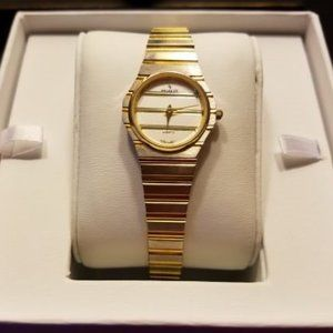 Stainless Steel & Gold Vintage Watch
